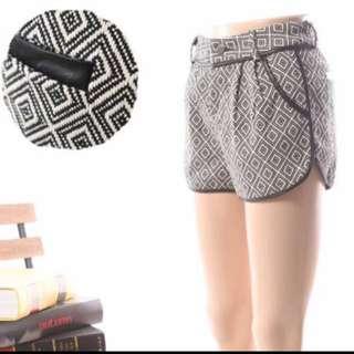 INSTOCK BNIP denim Curved Shorts