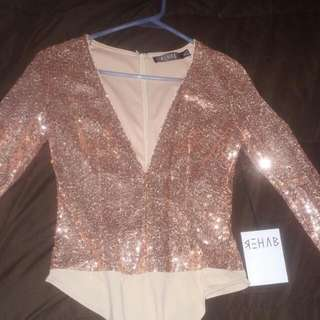 Rose Gold Bodysuit