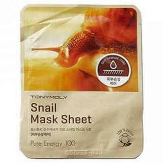 Tony Moly Snail Mask (NEW)