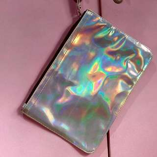 Colorbox Hologram Clutch