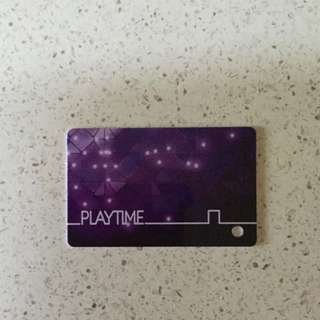 Arcade Playtime Card