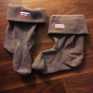 Grey Mid-calf Hunter Boot Socks