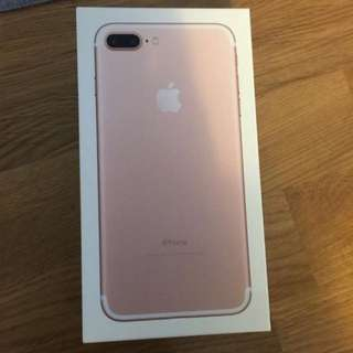 WTT Iphone 7 Plus 128GB Rose Gold
