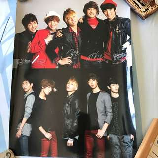 Shinee And Key Poster