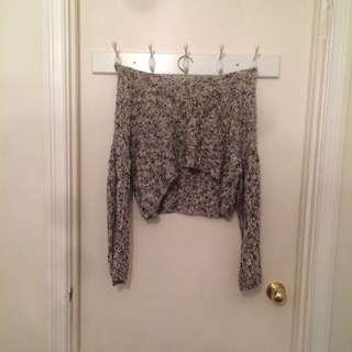 Brandy Melville Bell Sleeve Knit Sweater