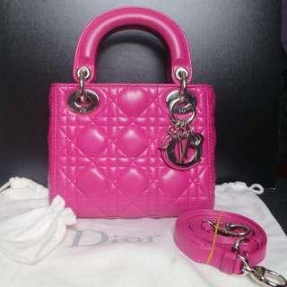 Lady Dior Mini Classic Lambskin