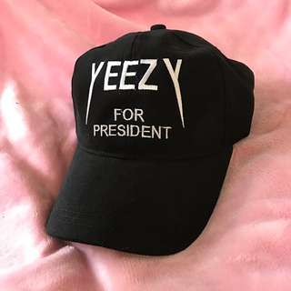 Cap Yeezy for president (fake)