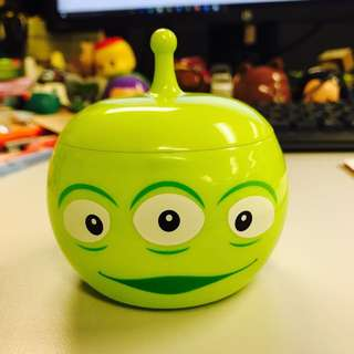 Toy Story 三眼仔圓形小盒子/Toy Story-Little green man(alien from Toy story) Box