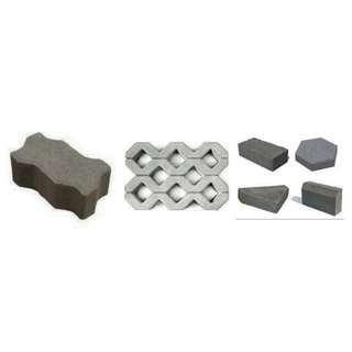Paving Block, Menyediakan Berbagai Type, Hidrolik, Harga Pabrik T6 Rp. 65.000; / T8 Rp. 75.000; Per Meter, Nego. Up. Rara - 087711172226