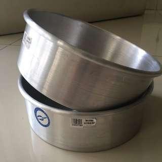 INGREDIENTS ROUND BAKING PAN, LOYANG KUE BULAT