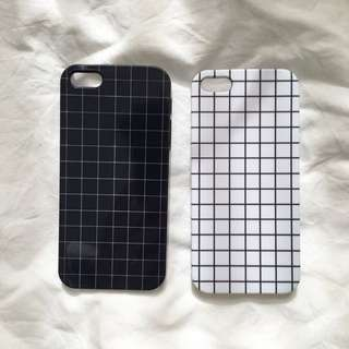 grid 5/5S iPhone case
