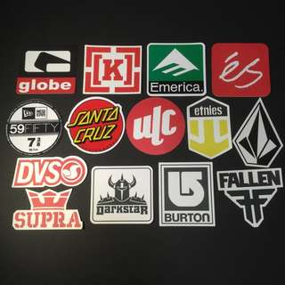 Sticker Waterproof High Quality - Streetwear Brands And Labels Stickers