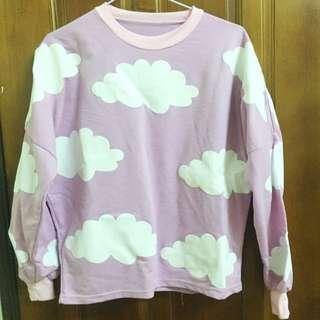 粉紫色雲朵上衣☁️