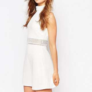 Smart Casual White Dress