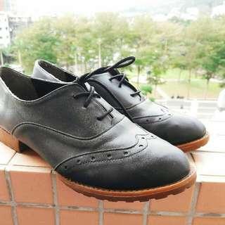 🔸二手 24.5 黑色牛津鞋🍃好穿好穿