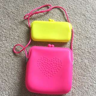 Cute Silicon Bag+ Purse