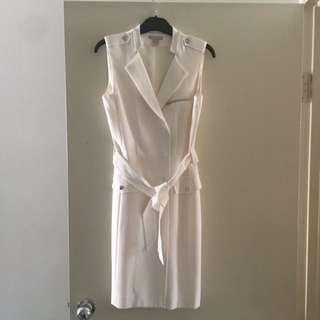 Cream H&M Wrap Dress