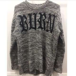 Unif Burn Out Sweate Jumper Size Medium