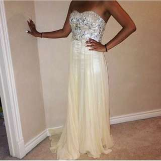 Brand New Champagne Prom Dress