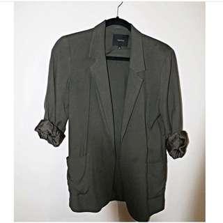 Brand New Aritzia Talula Green Blazer