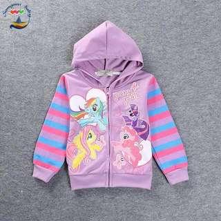 (Nett Price) Pony Purple Hoodie Jacket