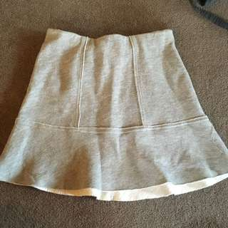 Grey H&M Skirt
