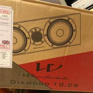 Wharfedale Diamond  10.CS Speaker 中置喇叭100%New