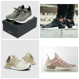 Adidas NMD, EQT, Superstar, Nike Roshe two, Etc..