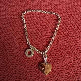 Authentic Thomas Sabo Silver Charm Bracelet