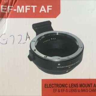 Canon EF 鏡頭 轉接環 M4/3系統 Panasonic Olympus