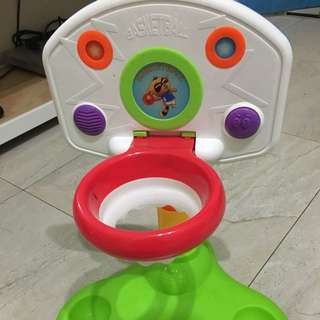 寶寶籃球框。有聲音。可以讓寶寶練習投籃。