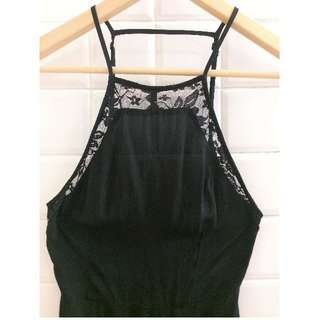 Black lace dress LBD