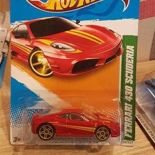 Hot Wheels Ferrari 430 Scuderia TH Reg / Treasure Hunts Langka