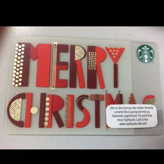 Starbucks Germany Card