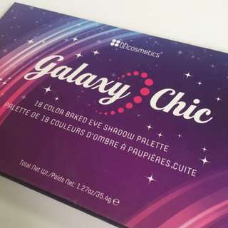 bhCosmetics Galaxy Chic 18 Shades Eyeshadow Palette