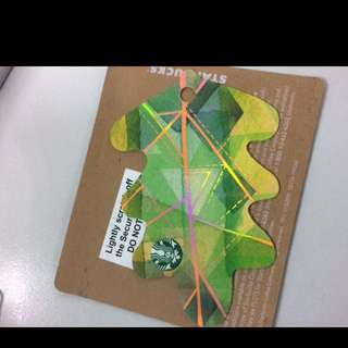 Starbucks Card Leaf 2017