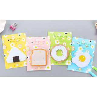 Cute Food Post-its/sticky note