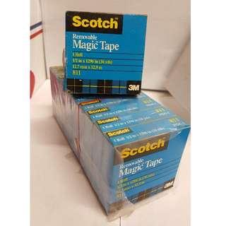 3M 811 Scotch Removable Magic Tape 12mm