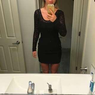 Volcom Lace Body Con Dress