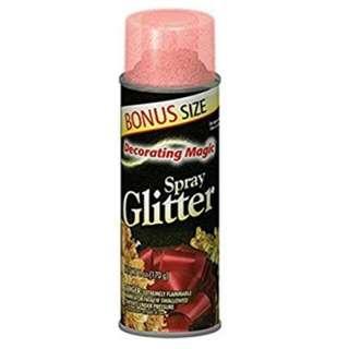 Decorating Magic Red Glitter Spray