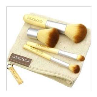 SALE! ECOTOOLS 4 Make up Brushes Set- Travel size