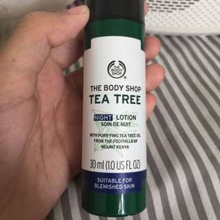 Tea Tree Night Cream
