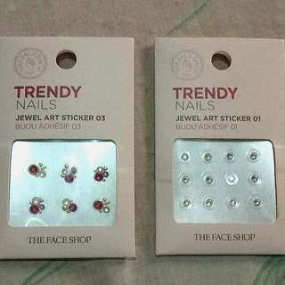 The Face Shop nail art jewel sticker
