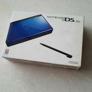 Brand New In Box Nitendo DS Dark Blue Colour