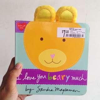 I Love You Beary Much   Board Book