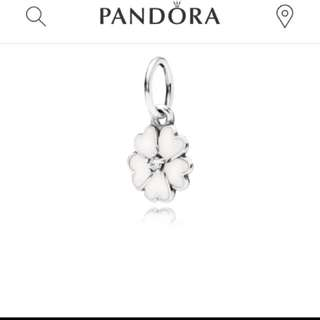 Pandora 全新正品 現貨在台 白花 垂墜