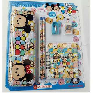 Brand New Stationery Tsum Tsum Set