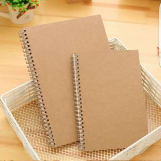 Muji Inspired Plain Notebook