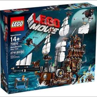 70810 Lego Movie Metalbeard's Sea Cow