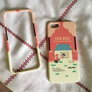 yellow pink iphone 5/5s case